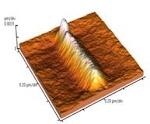 Silicon oxide nanostructure prepared by local anodic oxidation of silicon